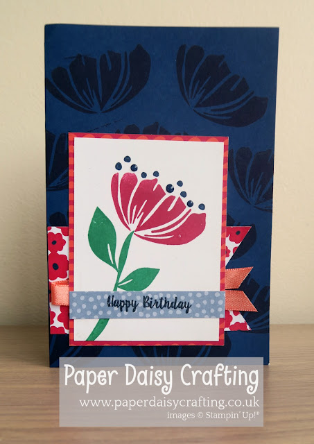 Bloom by bloom, happiness blooms, Stampin Up