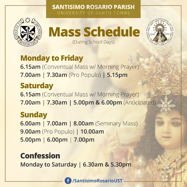 Santísimo Rosario Parish-UST