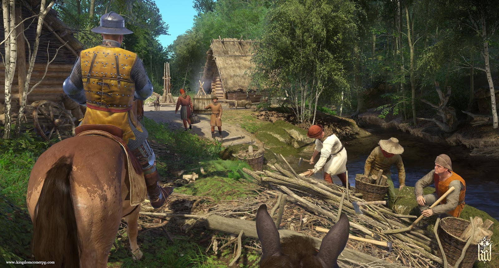 Kingdom Come: Deliverance - From the Ashes op PS4
