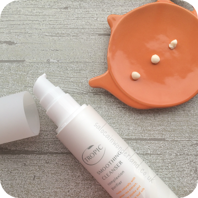 tropic smoothing cleanser for oily skin review