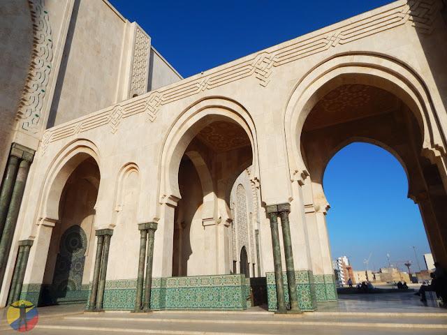 Arcos de la Mezquita Hassan II