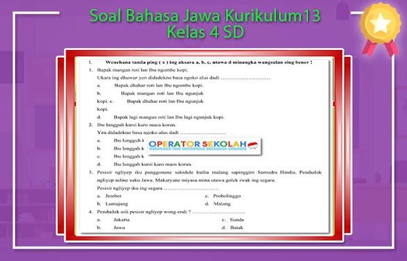 Soal Lks Basa Jawa Kelas 11