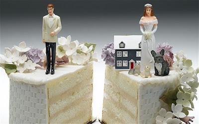 divorcio de la pareja