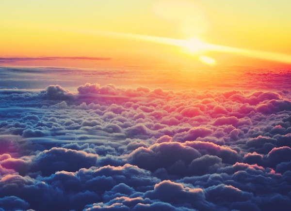 16. Sunrise Above The Cloud