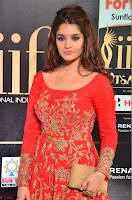 Ritika in sindoori Red Dress at IIFA Utsavam Awards 2017  Day 2  Exclusive 11.JPG
