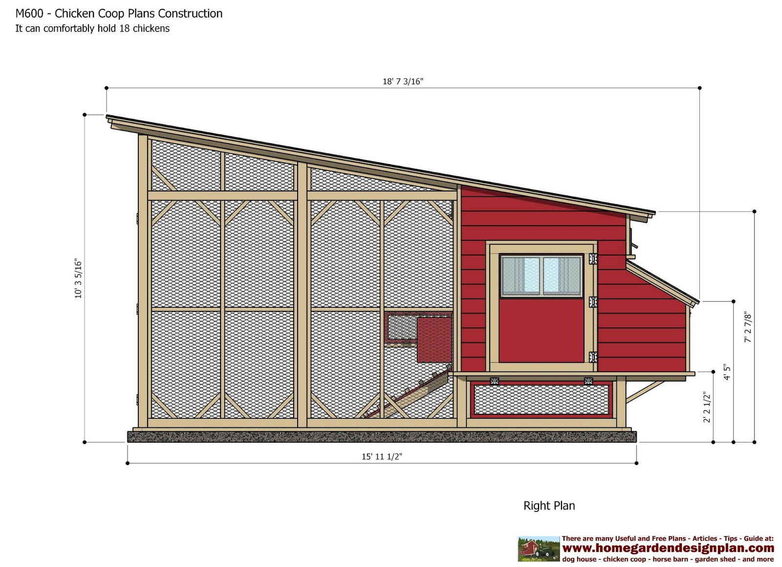 home garden plans m600 chicken coop plans construction