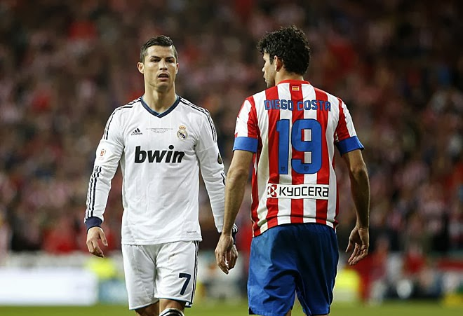 Real Madrid vs Atletico - Copa del Rey