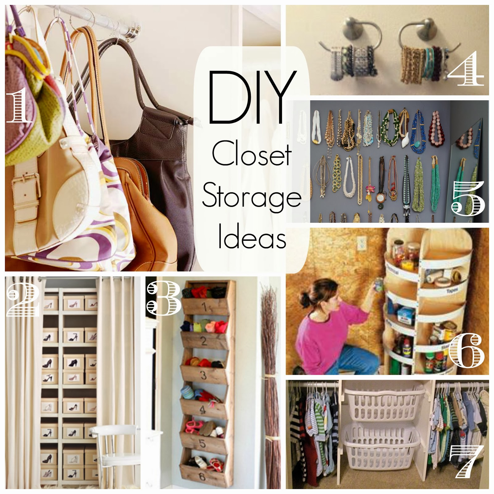 Cathey with an E: Saturday's Seven - DIY Closet ...