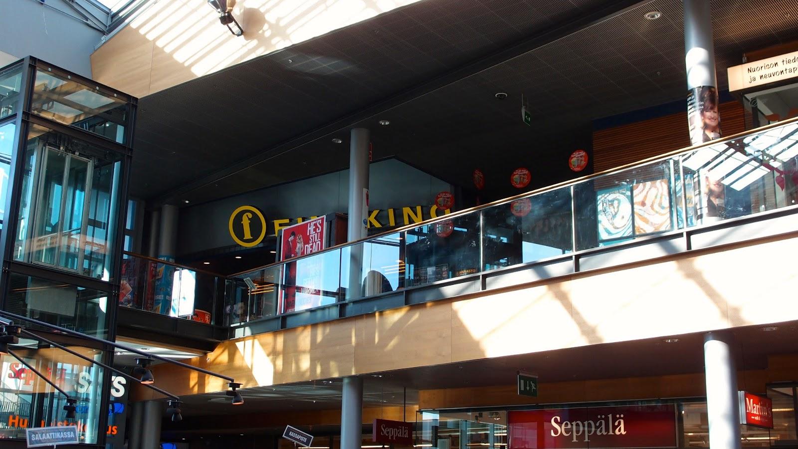Elokuvateattereita: Finnkino Omena – entinen elokuvateatteri