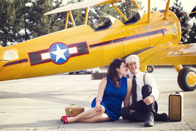 Family+portraits+maternity+engagement+photo+shoot+rockabilly+session+retro+vintage+aerospace+flight+plane+fly+Melissa+McFadden+Photogrpahy+The+Frosted+Petticoat+3 - Come fly with me!