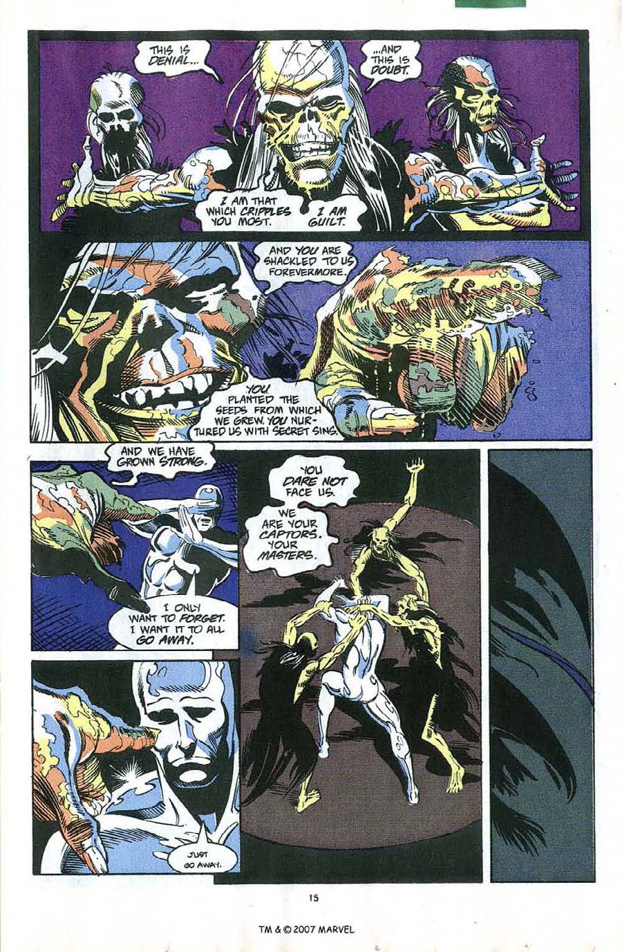 Read online Silver Surfer (1987) comic -  Issue #58 - 17