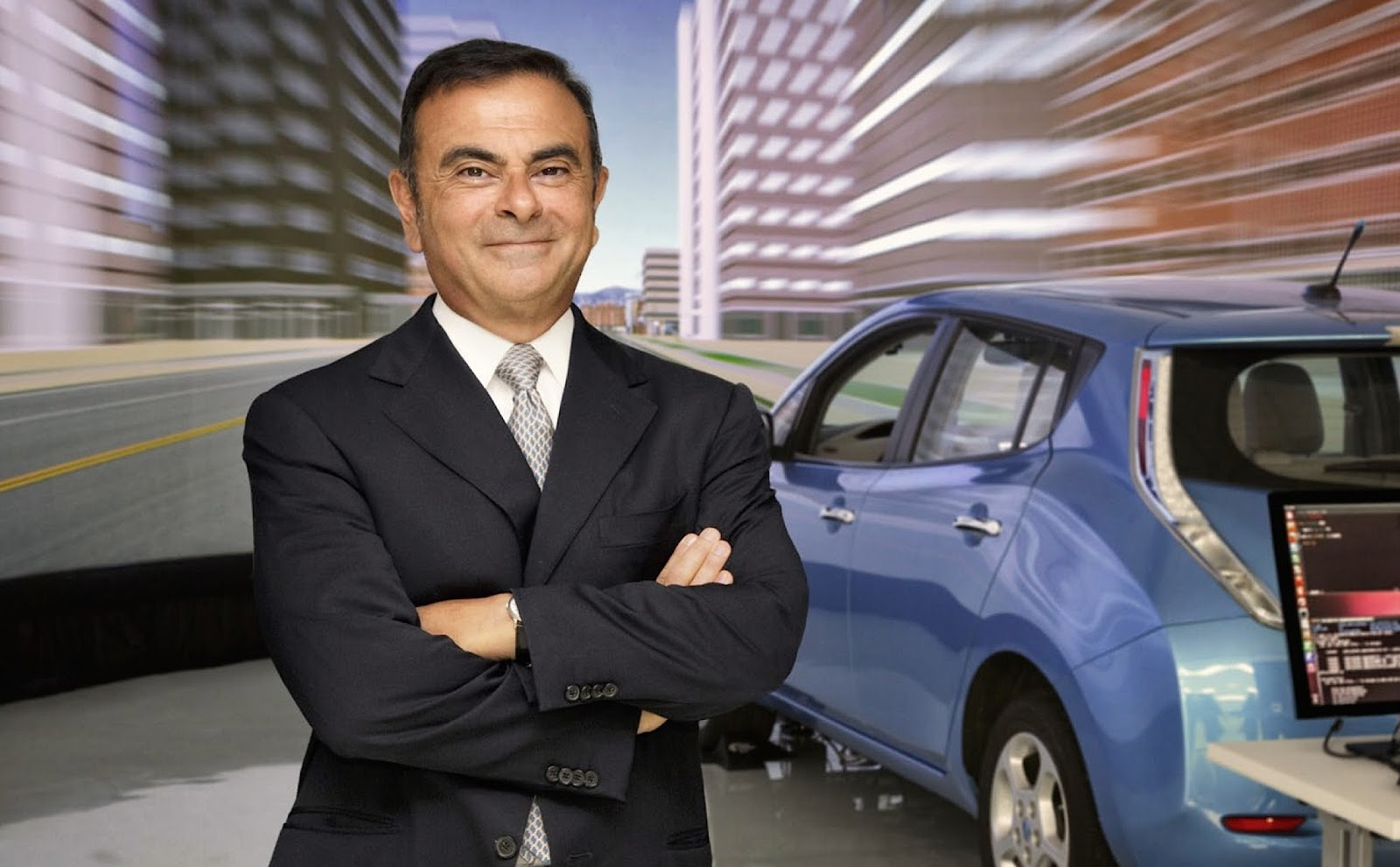 ghosn report Η Nissan όχι μόνο παράγει «καθαρά αυτοκίνητα» αλλά την ενδιαφέρει και ο τρόπος παραγωγής να είναι «πράσινος»