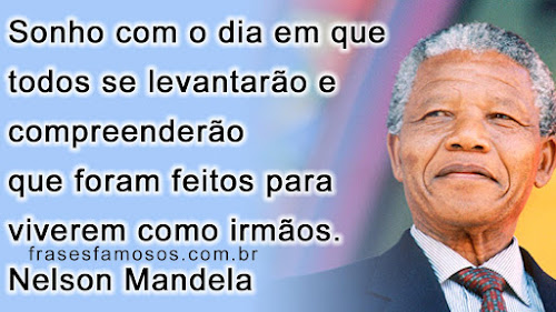 Mensagem de Nelson Mandela