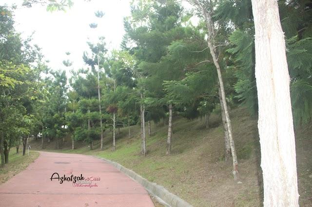 Melawat sekitar pre wedding shoot di Taman Saujana Hijau Presint 11 Putrajaya