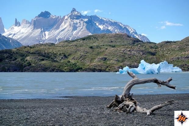 Parque Nacional Torres del Paine, Lago Grey