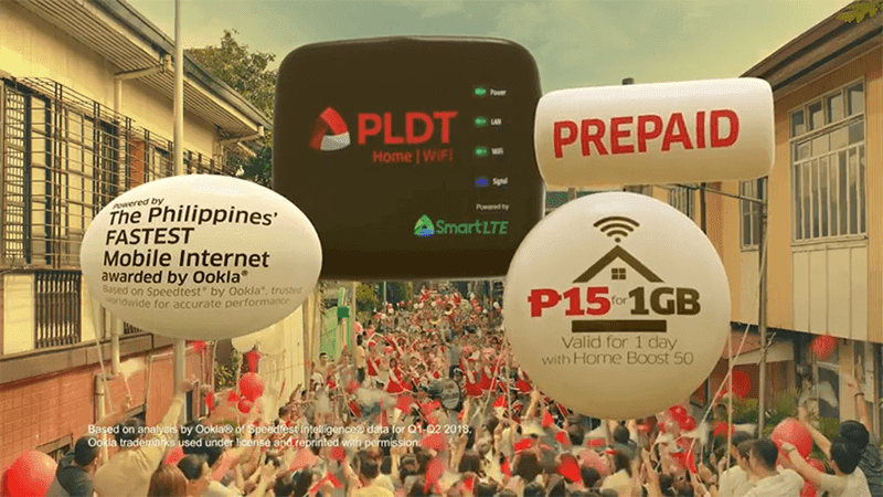PLDT launches the affordable Home Prepaid WiFi!