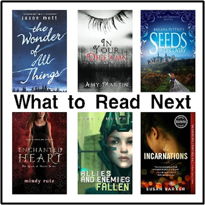Enjoy a good book this afternoon with these six book suggestions from my Wish List.  You can find a little bit of Alien adventure, Magic, and Historical fiction within these pages.  I haven't read them all yet, so let me know if you beat me to them if they are as good as they seem!
