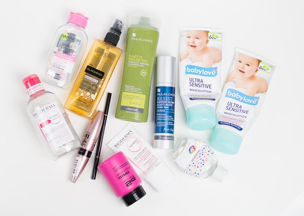 Aufgebraucht Nachgekauft Beauty-und Pflegeprodukte Maerz 2016