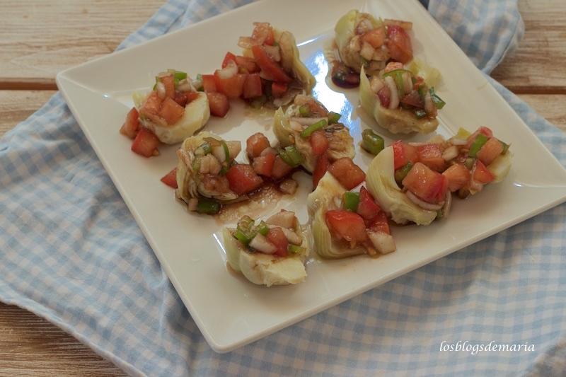 Alcachofas a la vinagreta