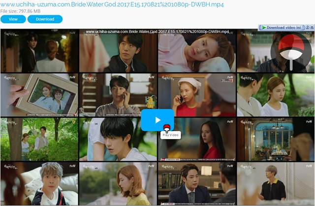 Screenshots Download Film Drama Korea Gratis Bride Of The Water God, The Bride of Habaek, 하백의 신부 (2017) Episode 15 DWBH NEXT MP4 Free