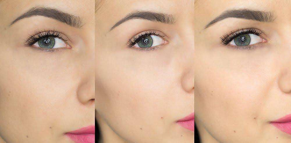 Metoda klejenia rzęs, kępkę od dołu. makijaż ślubny poznań wizazystka poznań