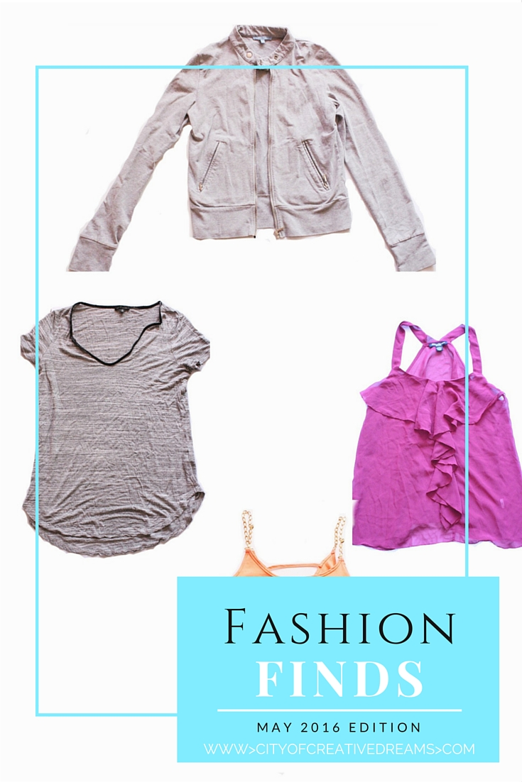 Fashion Finds - May Edition | City of Creative Dreams