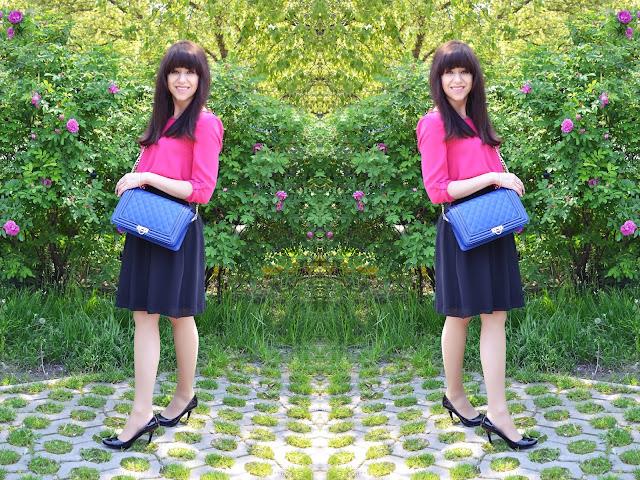 VARNISHED? DEFINITELY YES._Katharine-fashion is beautiful_Modrá kabelka JEJ_Katarína Jakubčová_Fashion blogger