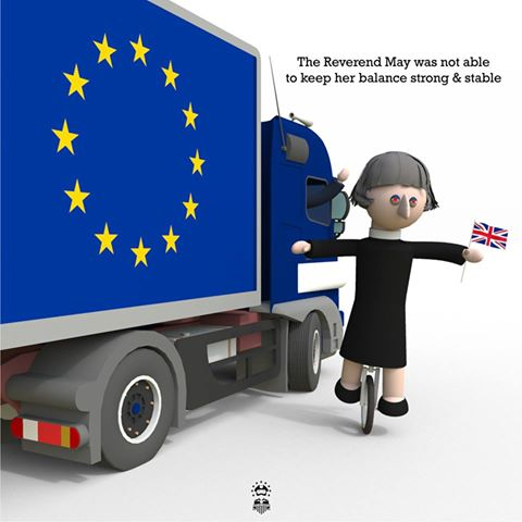 Theresa May not so strong and stable