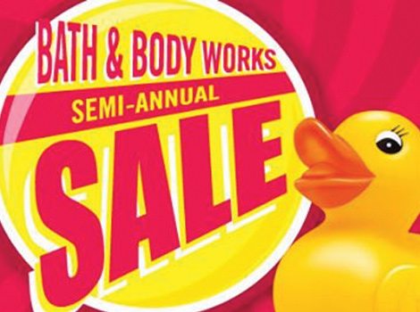 Semi annual sale bath and body works 2014 dates
