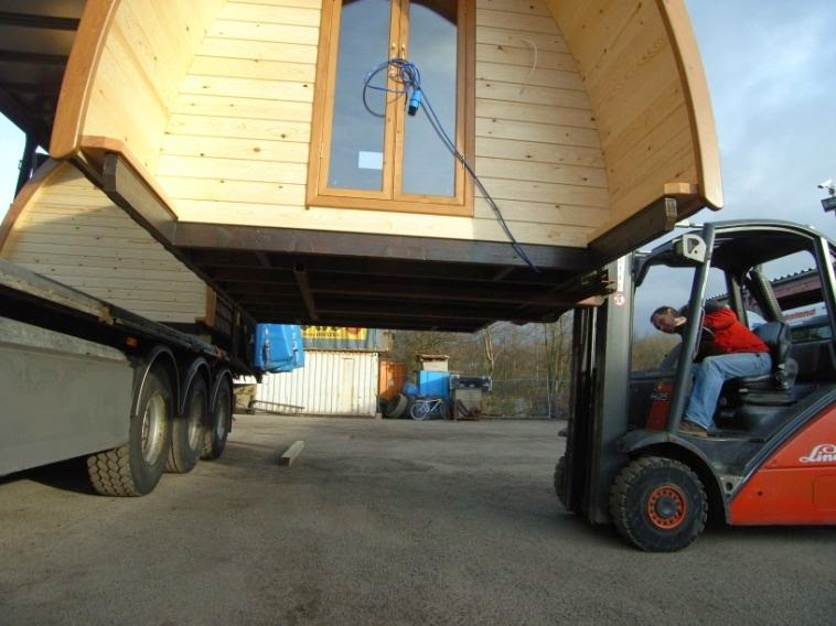 Le Pod - facilement transportable