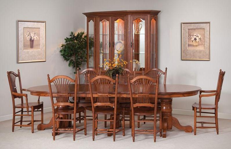 Attractive Selecting The Right Amish Kitchen Table Design