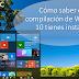 Cómo saber qué compilación de Windows 10 tienes instalada