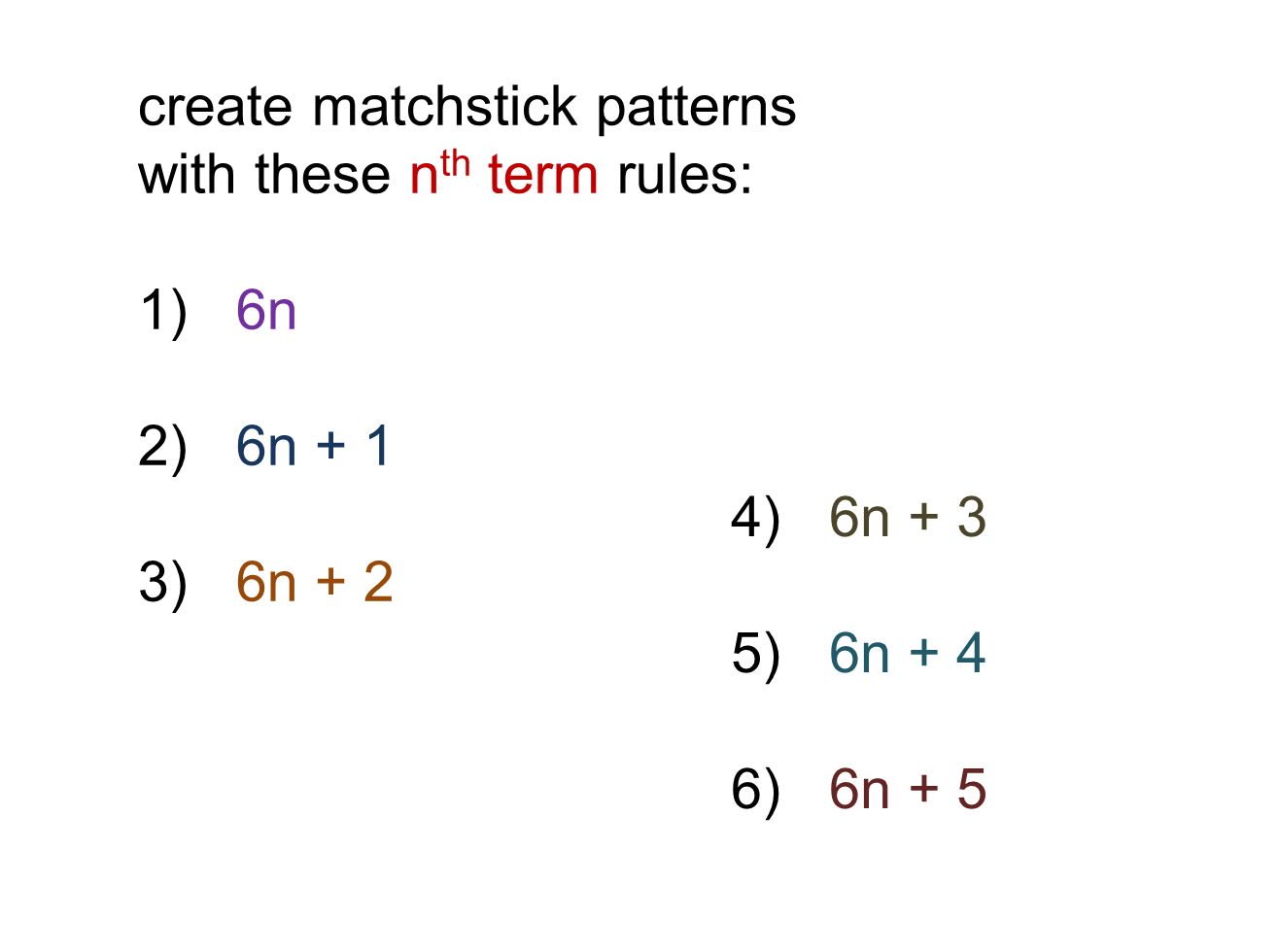 Median Don Steward Mathematics Teaching Patterns For Nth