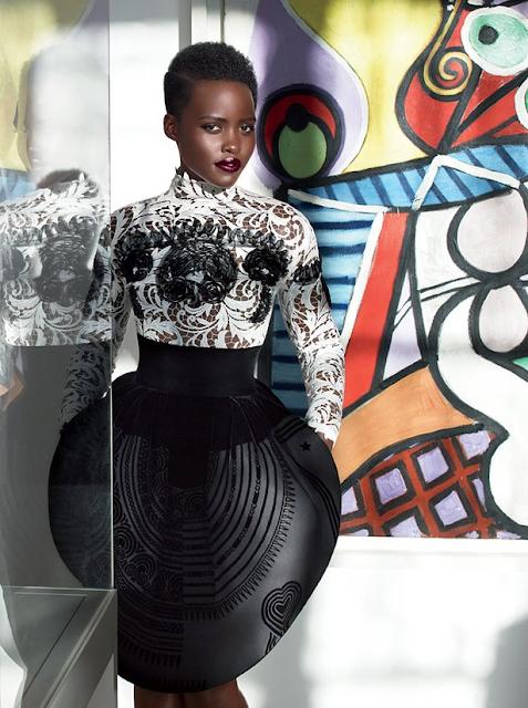 Lupita Nyong'o Vogue Magazine