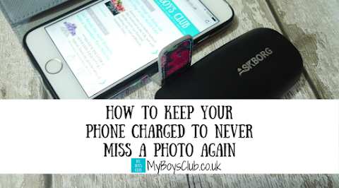 How to keep your phone charged & never miss a photo opp again (REVIEW)