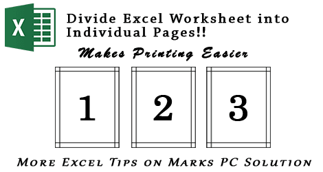 Excel Page Layout View