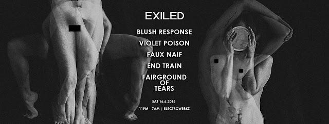 EXILED ft. BLUSH RESPONSE / VIOLET POISON / more.. | London [16Jun2018]