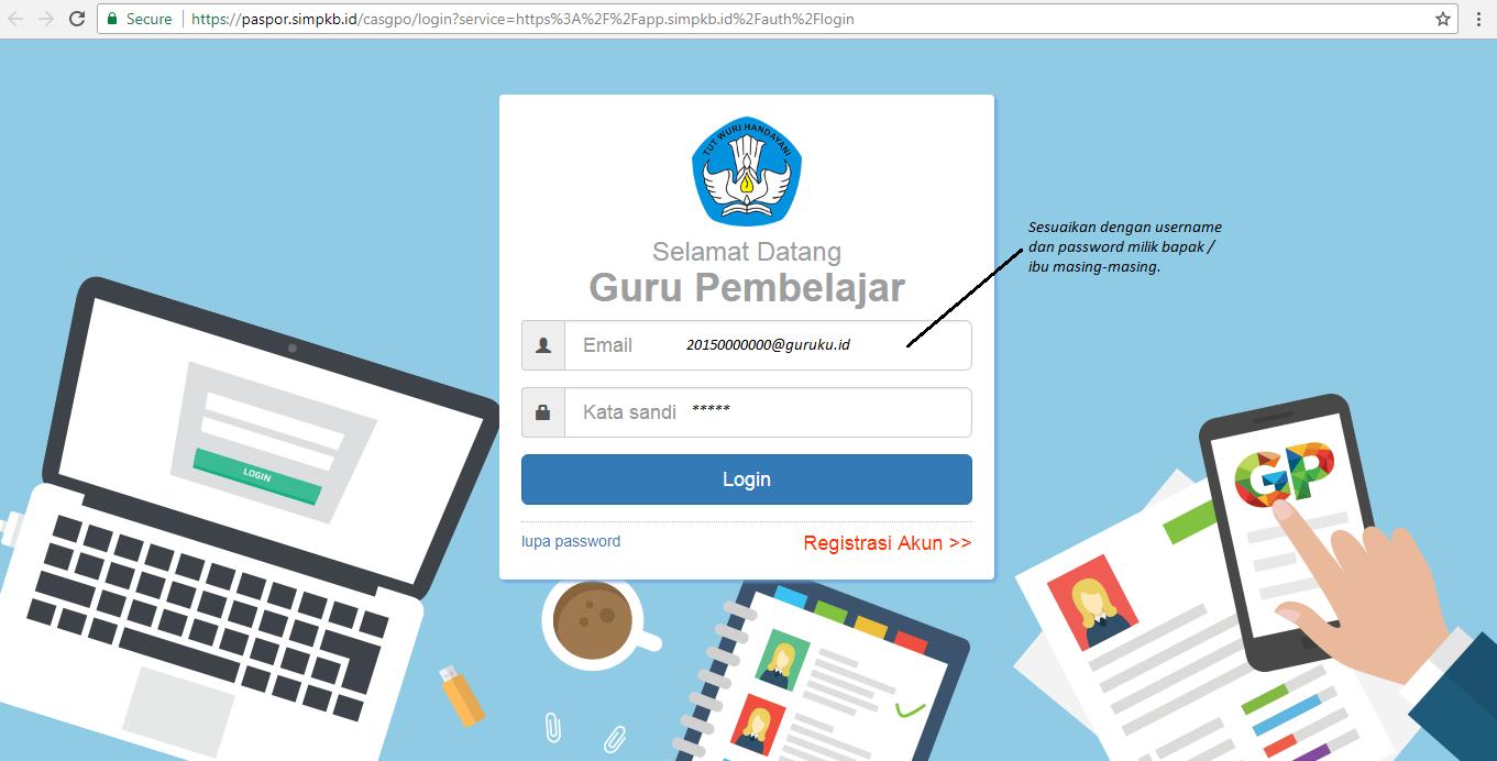 Cara Cetak Kartu Anggota SIMPKB ~ Portal Pendidikan