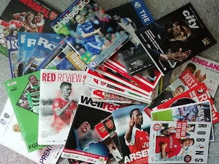 My Football Programme collection