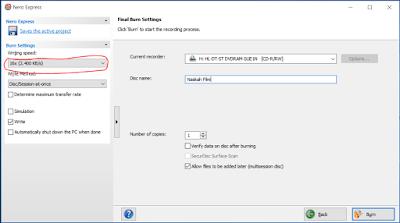 Cara Burning Data ke CD dengan Nero Express