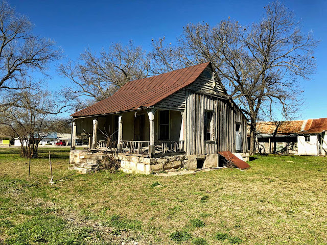 Heuermann House, Comfort, Texas, January 2019