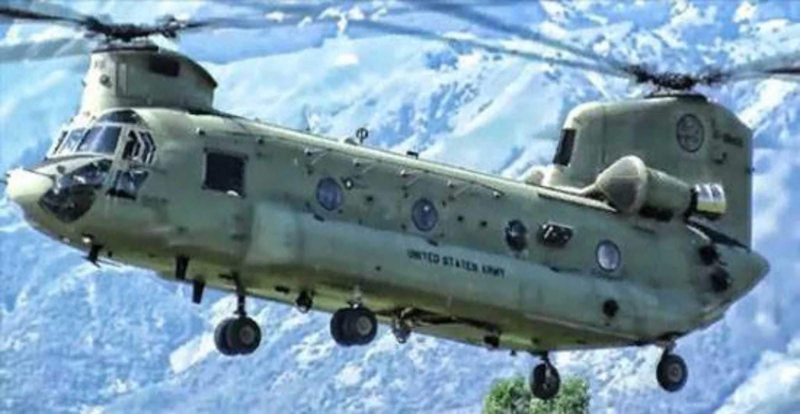 Peningkatan potensi helikopter Chinook akan berlangsung hingga 2050-an