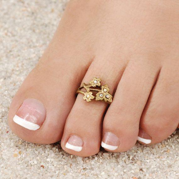 Gold Nail Rings Uk