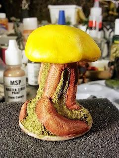 Ten Foot Mushroom Roper or Myconid Cephalopod