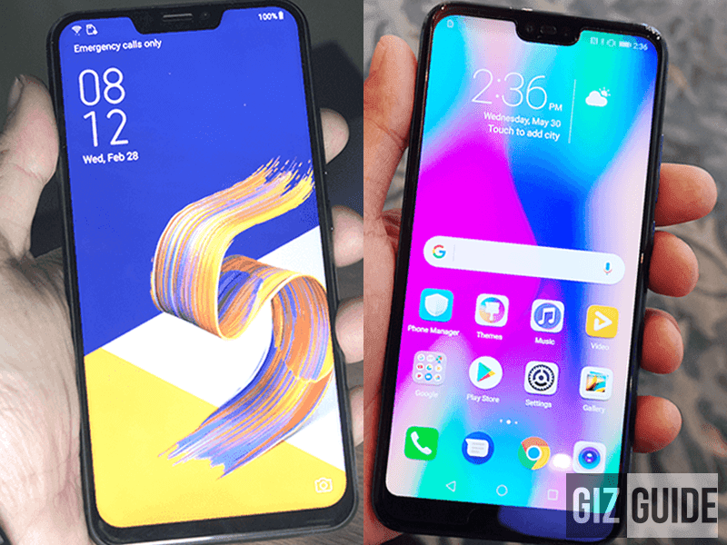 ASUS ZenFone 5Z vs Honor 10 Specs Comparison