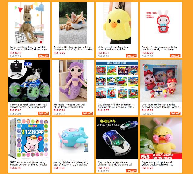 Toys for my kids, on mogujie via ezbuy