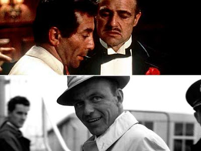Johnny Fontane y Frank Sinatra