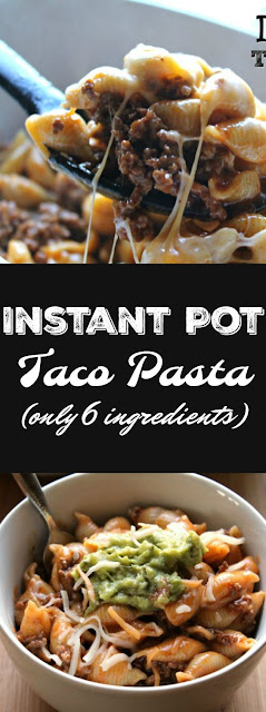 Instant Pot Taco Pasta (only 6 ingredients)