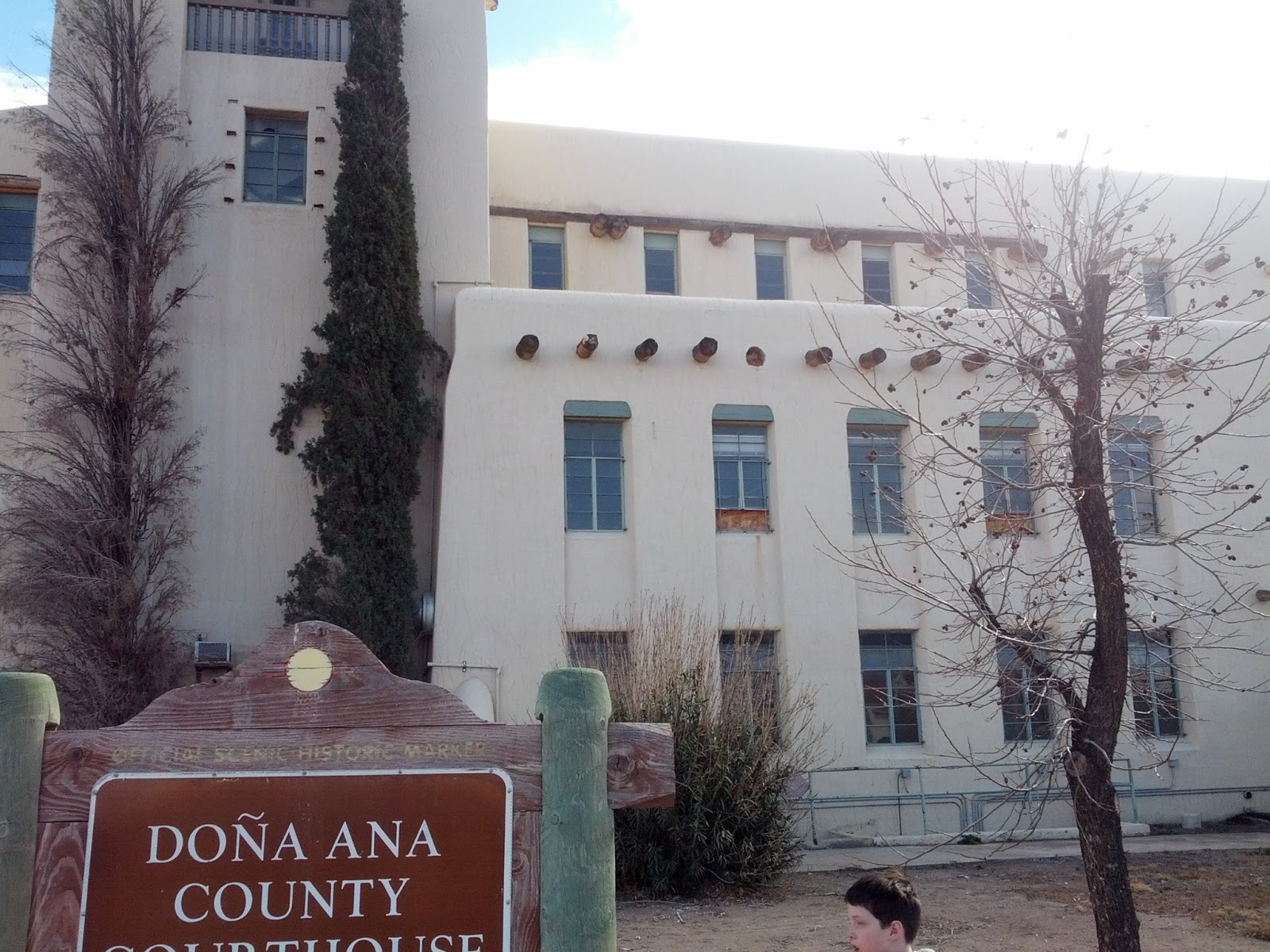 Historical Markers of New Mexico: Doña Ana County Courthouse