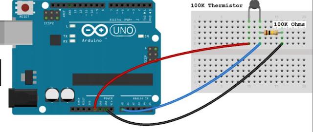 Arduino: sensores de temperatura